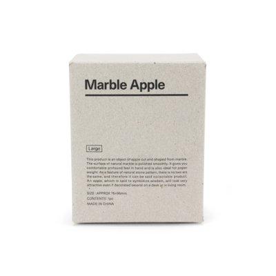 """画像3: 【DETAIL】マーブルアップル""""ホワイト/ラージ"""" Marble Apple """"White / Large"""""""