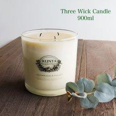 画像1: 【KLINTA】マッサージキャンドル  900ml 85時間 Three wick candle クリンタ スウェーデン イギリス製 アロマキャンドル アロマ 香り 北欧 ギフト キャンドル 癒し ロウソク 大きなキャンドル  (1)