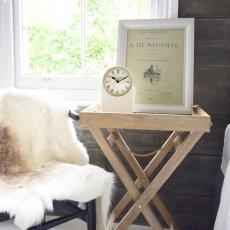 画像2: 【LONDON CLOCK】THOMAS ロンドンクロック トーマス クリーム イギリス ロンドン おしゃれ 置き時計 英国 (2)