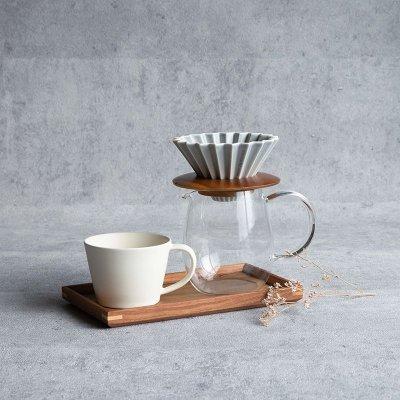 画像3: 【ORIGAMI】オリガミ ドリッパー Dripper S  マットカラー コーヒードリッパー 単品 コーヒー 珈琲 陶器 磁器 日本製 美濃焼 岐阜 カフェ