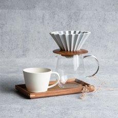 画像2: ティーポット  丸 600ml コーヒーサーバー  耐熱ガラス 耐熱 珈琲 (2)