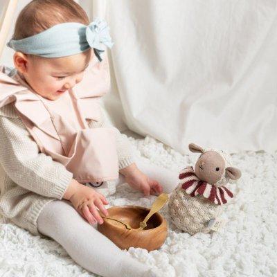 画像1: 【OYOY】Roly Poly ロリーポリー シープ ひつじ Roly Poly Sheep ニット 人形 起き上がりこぼし デンマーク EU