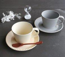 画像18: 【作山窯-SAKUZAN-】SAKUZAN DAYS Sara ストライプ カップ&ソーサー Stripe Cup&Saucer /リム皿/コーヒーカップ/サラ/カフェ/磁器/日本製/陶器 (18)