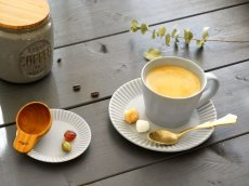 画像17: 【作山窯-SAKUZAN-】SAKUZAN DAYS Sara ストライプ カップ&ソーサー Stripe Cup&Saucer /リム皿/コーヒーカップ/サラ/カフェ/磁器/日本製/陶器 (17)