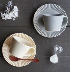 画像19: 【作山窯-SAKUZAN-】SAKUZAN DAYS Sara ストライプ カップ&ソーサー Stripe Cup&Saucer /リム皿/コーヒーカップ/サラ/カフェ/磁器/日本製/陶器 (19)