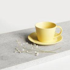 画像9: 【作山窯-SAKUZAN-】SAKUZAN DAYS Sara ストライプ カップ&ソーサー Stripe Cup&Saucer /リム皿/コーヒーカップ/サラ/カフェ/磁器/日本製/陶器 (9)