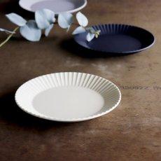 画像4: 【作山窯-SAKUZAN-】SAKUZAN DAYS Sara Stripe PlateM  ストライププレートM リム皿/お皿 19cm/プレート/取り皿/小皿/カフェ/サラ/磁器/日本製/陶器 (4)