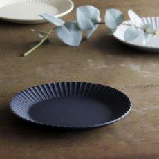 画像2: 【作山窯-SAKUZAN-】SAKUZAN DAYS Sara Stripe PlateM  ストライププレートM リム皿/お皿 19cm/プレート/取り皿/小皿/カフェ/サラ/磁器/日本製/陶器 (2)