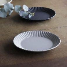 画像3: 【作山窯-SAKUZAN-】SAKUZAN DAYS Sara Stripe PlateM  ストライププレートM リム皿/お皿 19cm/プレート/取り皿/小皿/カフェ/サラ/磁器/日本製/陶器 (3)