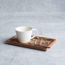 画像5: 【GIFT COLLECTION】K SAKUZAN DAYS Sara ティータイムセット マグ トレー フォーク Tea Time Set  新生活 ギフト 朝食 コーヒーカップ カフェ 磁器 日本製 陶器 作山窯  (5)