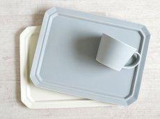 画像1: 【作山窯-SAKUZAN-】SAKUZAN DAYS Sara スクエアプレート L 28cm/お皿/ディナープレート/大皿/サラ/カフェ/磁器/日本製/陶器 (1)