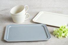 画像3: 【作山窯-SAKUZAN-】SAKUZAN DAYS Sara スクエアプレート L 28cm/お皿/ディナープレート/大皿/サラ/カフェ/磁器/日本製/陶器 (3)
