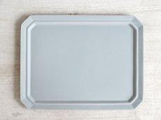 画像5: 【作山窯-SAKUZAN-】SAKUZAN DAYS Sara スクエアプレート L 28cm/お皿/ディナープレート/大皿/サラ/カフェ/磁器/日本製/陶器 (5)