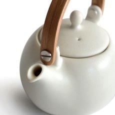 画像11: 【SALIU】結 YUI 土瓶 急須 ギフト箱(布なし内紙なし) 3点セット 陶器 磁器 白磁 丸い かわいい 可愛い 深山 miyama ギフトセット LOLO ロロ おしゃれ  きゅうす 茶こし 人気 おすすめ 浅葱 白 灰 炭 桜 さくら ホワイト ミント グレー ダークグレー ピンク マット (11)