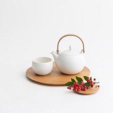 画像7: 【SALIU】結 YUI カップ ころころ 湯呑み  湯飲み ゆのみ 陶器 磁器 丸い かわいい 可愛い 日本製 おしゃれ マットブラック 黒 白 シンプル (7)