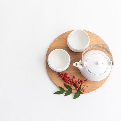 画像2: 【SALIU】結 YUI カップ ころころ 湯呑み  湯飲み ゆのみ 陶器 磁器 丸い かわいい 可愛い 日本製 おしゃれ マットブラック 黒 白 シンプル