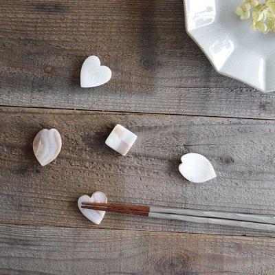 画像1: 【Pearl Collection】桜 シェルプレート 小皿 貝 パール  白貝 小物入れ SAKURA  花