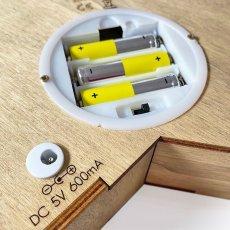 画像7: 【VINTIUN】ビンティウン スターライト 木製星型ライト  ナイトライト カスタマイズ 照明 オリジナル ランプ ナイトランプ 子供部屋 インテリア スペイン製 (7)