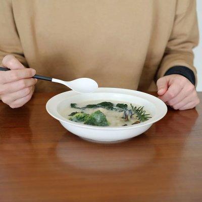 画像1: 【ZIKICO】ディナーセット ホワイト 白 SUMUカトラリー ジルコニア セラミックス 鉱物由来 金属アレルギー 食卓 WHITE