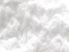 画像3: 【eco moco】エコモコ フェイスタオル/ハネル糸/オゾン漂泊 /スノー/ホワイト/今治製タオル/日本製/もこもこ/モコモコ/ワッフル (3)
