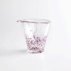 画像3: 【江戸硝子】ガラス 片口 徳利 酒器 江戸 浮世 うきよ 手作り (3)