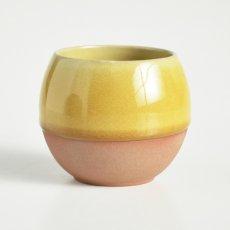 画像4: 【SALIU】ころころ SA02 湯呑み ロックカップ ホワイト 白 ネイビー 紺 イエロー 黄色 ロロ LOLO 陶器 日本製 (4)