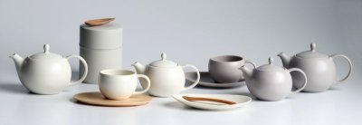 画像1: 【SALIU】結 YUI  ティープレート ソーサー 茶托 陶器  磁器 白磁 丸い かわいい 可愛い 美濃焼 急須 日本製  LOLO ロロ  おしゃれ 紅茶のための茶器 人気 おすすめ デザイン