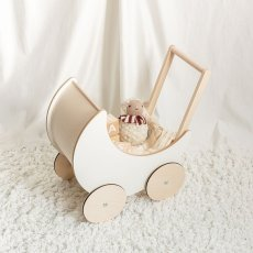 画像2: 【ooh noo】木製 トイプラム 手押し車 オーノー バギー おもちゃ入れ おもちゃ  (2)