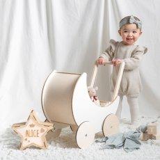 画像9: 【ooh noo】木製 トイプラム 手押し車 オーノー バギー おもちゃ入れ おもちゃ  (9)