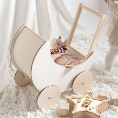画像7: 【ooh noo】木製 トイプラム 手押し車 オーノー バギー おもちゃ入れ おもちゃ  (7)