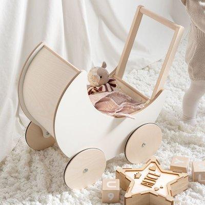画像3: 【ooh noo】木製 トイプラム 手押し車 オーノー バギー おもちゃ入れ おもちゃ