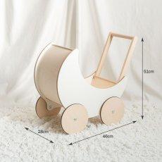 画像5: 【ooh noo】木製 トイプラム 手押し車 オーノー バギー おもちゃ入れ おもちゃ  (5)