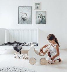 画像6: 【ooh noo】木製 トイプラム 手押し車 オーノー バギー おもちゃ入れ おもちゃ  (6)