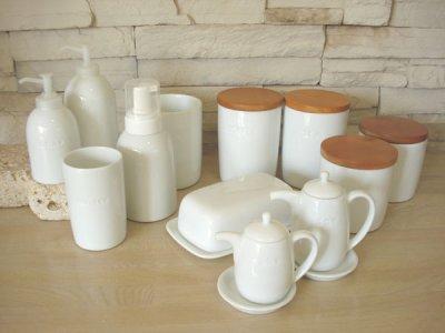 画像2: 【PL】ソープボトル/ソープディスペンサー/日本製/白磁器/陶器製/300ml