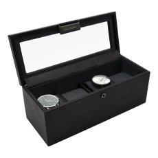 画像2: 【STACKERS】時計 ボックス 4個 時計  ブラック スタッカーズ ジュエリーケース  イギリス ロンドン ジュエリー クセサリー ケース 収納 (2)