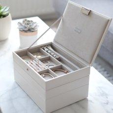 画像3: 【STACKERS】ジュエリーボックス 選べる3個セット グレージュ ロンドン JEWELLRY BOX (3)