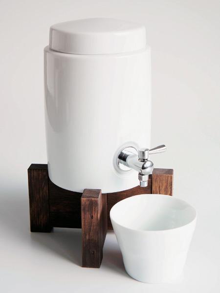 画像1: 【SHIKIKA】焼酎サーバー/白磁/陶器/日本製 (1)
