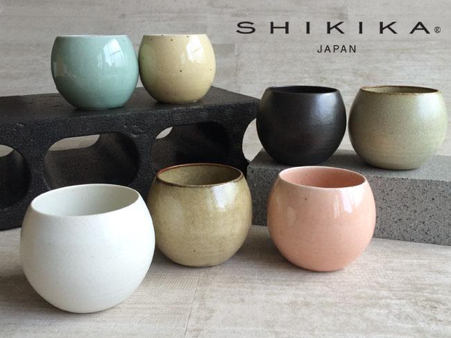 画像1: 【SHIKIKA】 ころころ 大 焼酎カップ/煎茶カップ/コップ/湯のみ/コロコロカップ/陶器製/日本製 270ml (1)