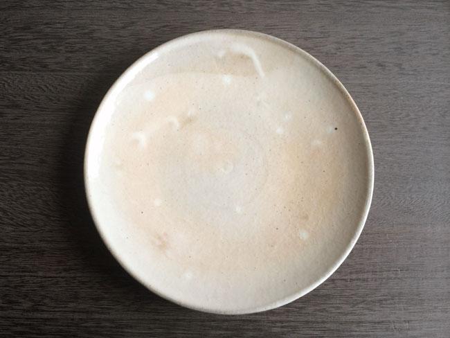画像1: 【加藤仁志】平皿/20cm/手作り/手引き/作家/粉引き/陶器  (1)