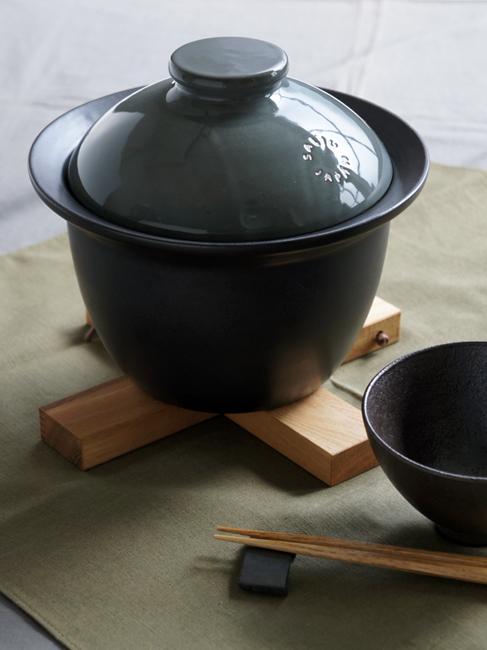 画像1: 送料無料!!【SALIU】ごはん鍋/土鍋/ご飯鍋/2合炊き/日本製/簡単/ONABE/直火用 (1)
