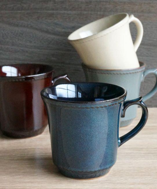 画像1: 【FICELLE】フィセル マグカップ/陶器/日本製 (1)