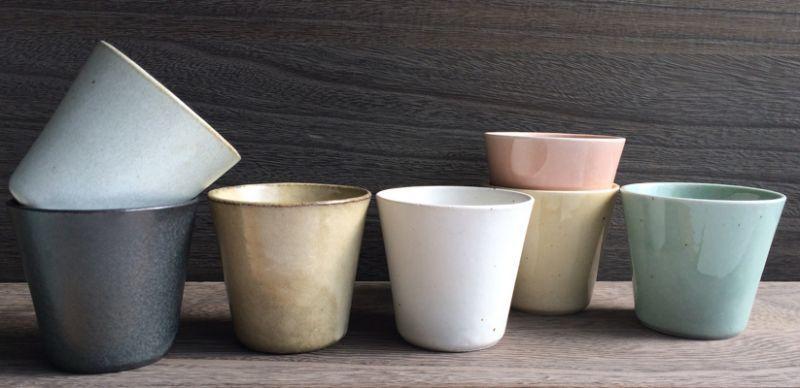 画像1: 【SHIKIKA】焼酎カップ/ロックカップ/コップ/湯のみ/陶器製/日本製 260ml (1)