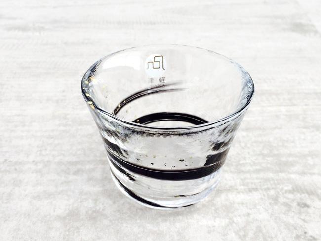 画像1: 【津軽びいどろ】盃 夜風/冷酒/おちょこ/ぐいのみ/盃/ミニグラス/ガラス食器/石塚硝子/アデリア/日本製 (1)