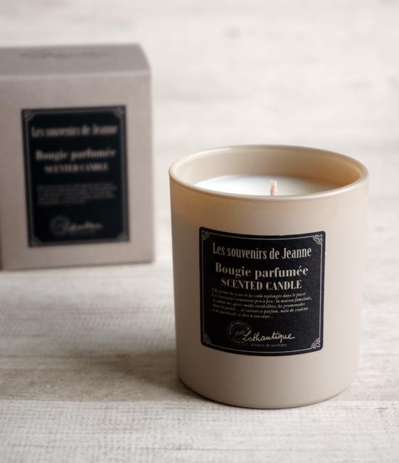 画像1: 【ロタンティック】Les souvenirs de Jeanne スーベニール ドゥ ジャンヌ キャンドル 140g /ろうそく/フレグランスキャンドル (1)