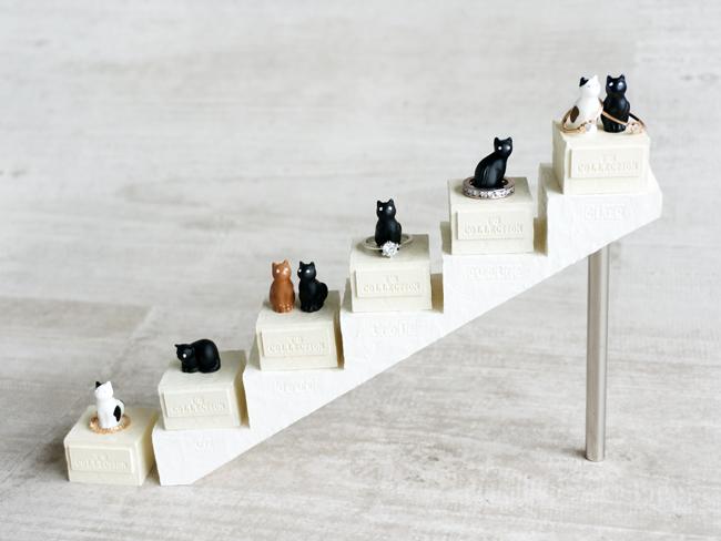 画像1: 【Neco】リングスタンド専用台座 ネコ 指輪置き/猫/ねこ/キャット/cat/ティーズコレクション T's COLLECTION (1)