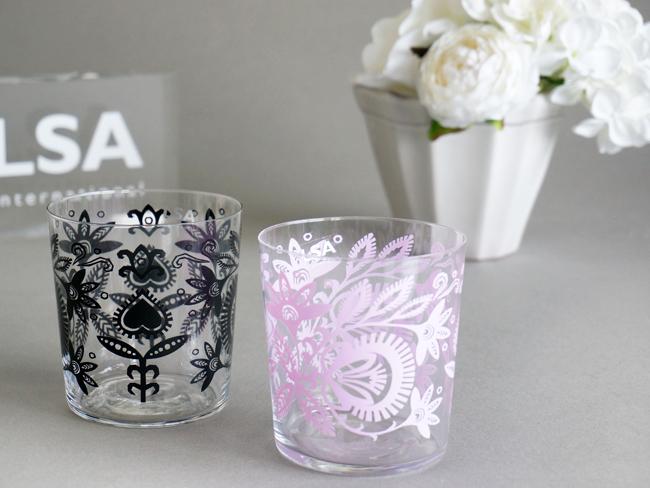 画像1: 【LSA】ANIA グラス/コップ/4個セット/LSA International /ハンドメイド/ポーランド製 (1)
