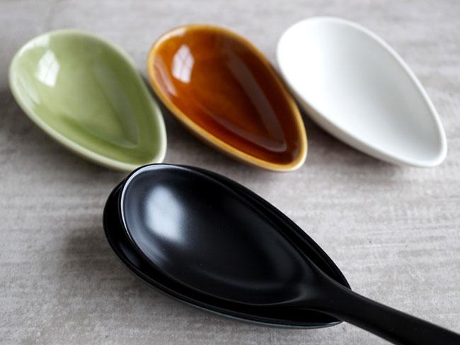 画像1: 【SHIKIKA】 れんげおき 単品/れんげ置き/蓮華置き/陶器/日本製/LOLO  (1)