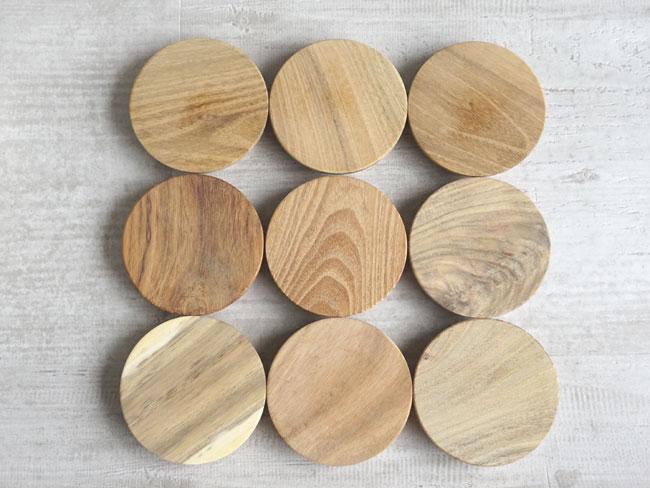 画像1: 【部品販売】木蓋 キャニスター専用 木蓋 チーク 単品販売 (1)
