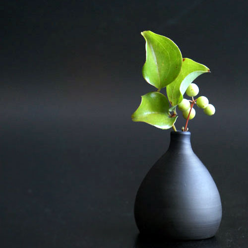 画像1: 【SALIU】RYO-凌- 手作り 一輪挿し/花器/花瓶/伝統工芸士/玉光陶苑/常滑焼/日本製/サリュウ  (1)