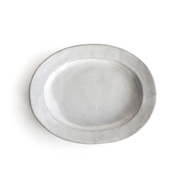画像1: 【Saveur】サヴール オーバルプレート 16cm/楕円/小皿/取り皿/黒土/グレイ/カフェ/ロロ/日本製 (1)